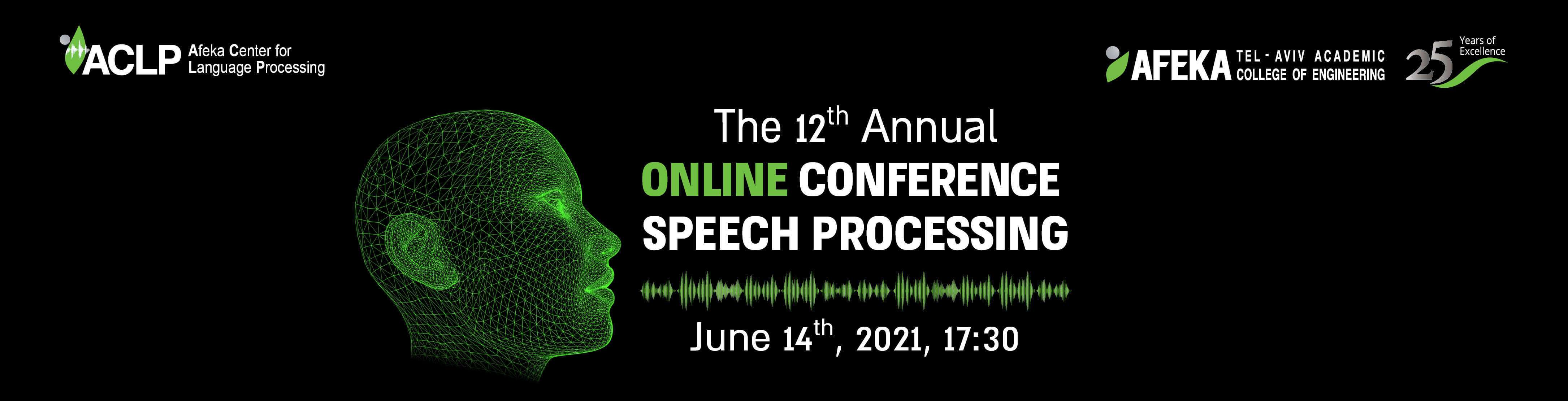 the 12th annual speech processing
