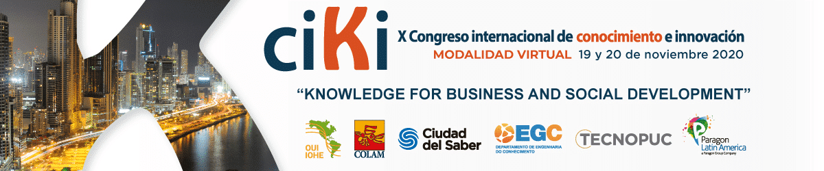 The 10th International Conference on Knowledge and Innovation (ciKi) Virtual