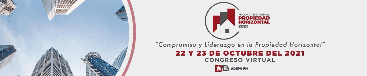 PH2021  -1 Congreso Virtual de Propiedad Horizontal 2021 Octubre 22 - 23, 2021