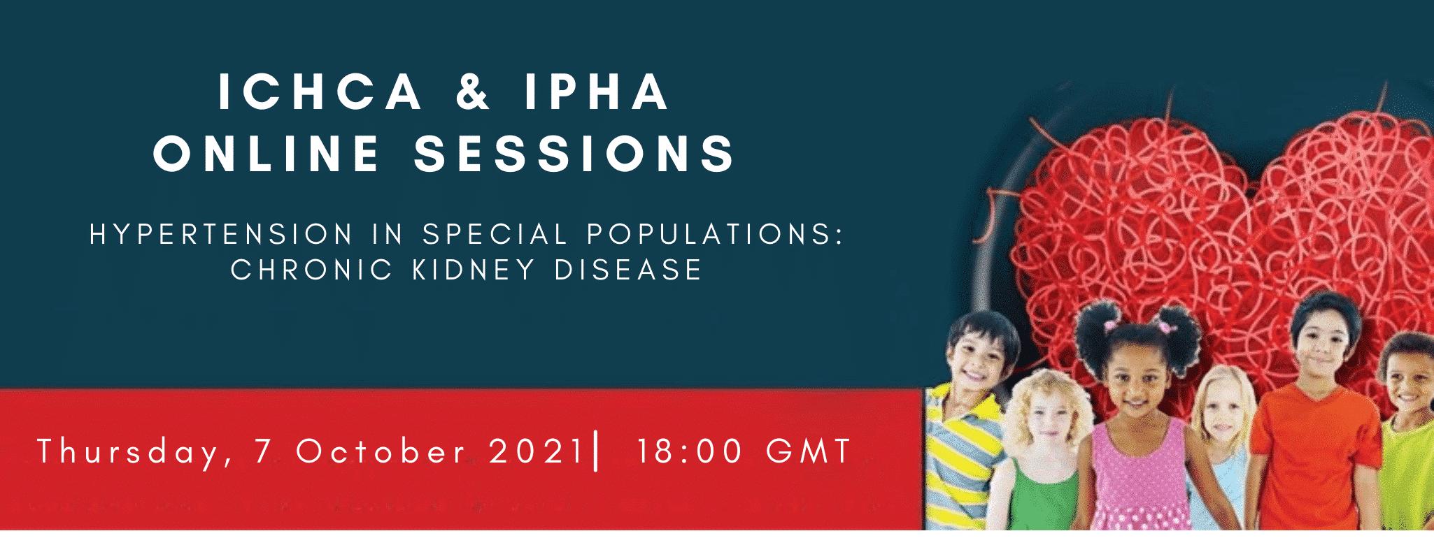 6th ICHCA IPHA Joint Webinar