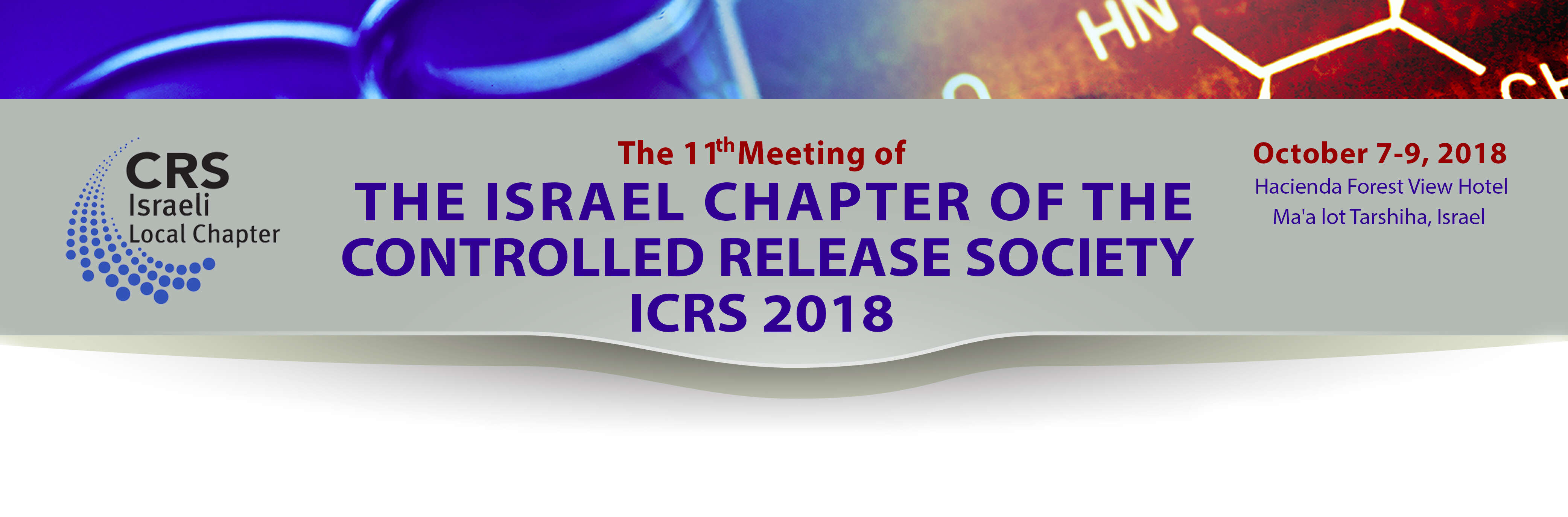 11th meeting of the Israel Chapter of The Controlled Release Society (ICRS)