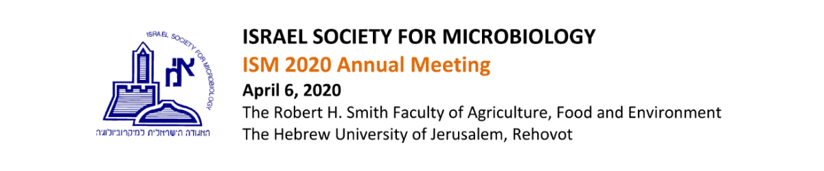 Israel Society for Microbiology Annual Meeting– ISM2020