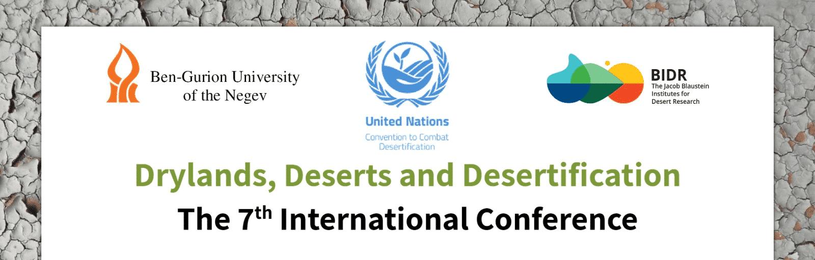 Drylands, Deserts and Desertification