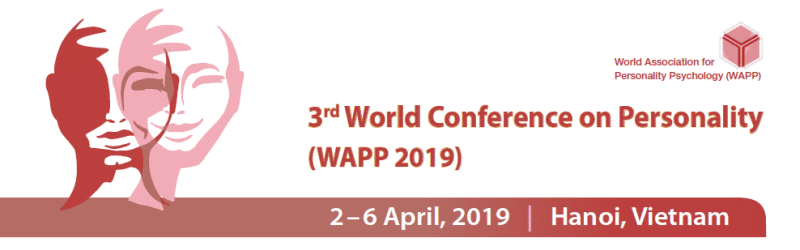 3rd World Conference on Personality (WAPP 2019)