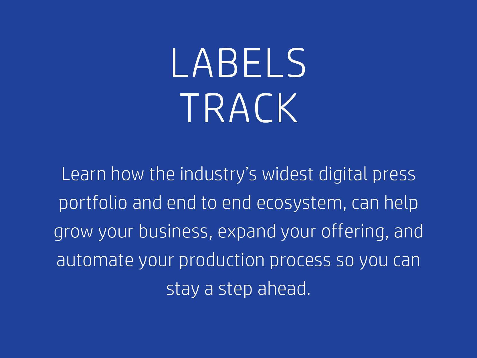 Labels Track